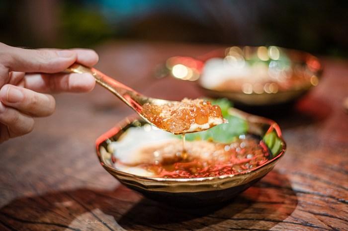 台北永康白水豆花-來自花生捲冰淇淋,好綿的麥芽糖花生粉桃膠粉圓豆花