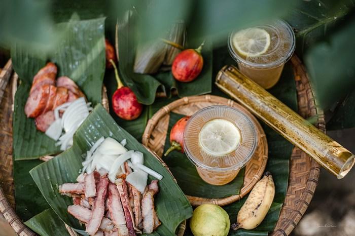阿里山達娜伊谷雅娜屋:森林木屋裡的烤肉香,吃獵人包、逛森林農作蔬果
