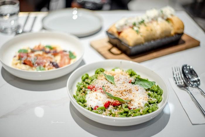 台北大安:PASTAIO手工義大利生麵現場製作,療癒的彩虹麵條色/國父紀念館最新人氣餐廳