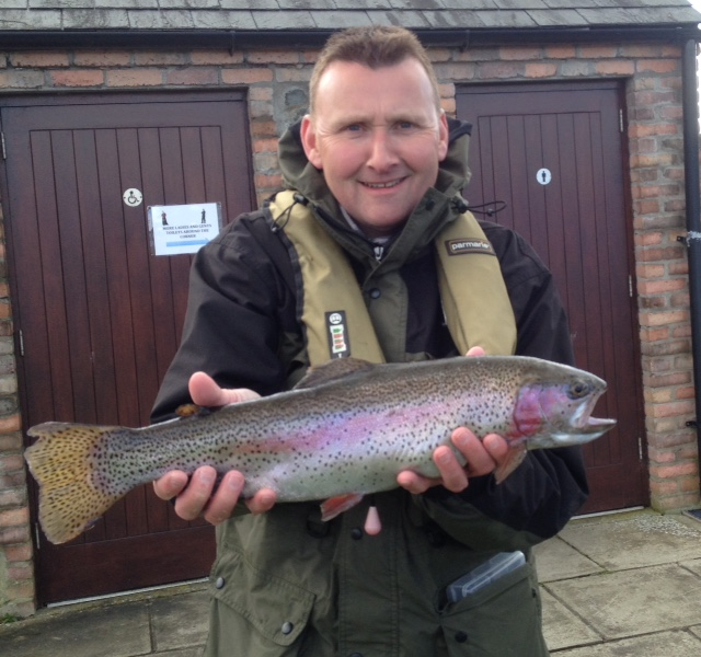 BAC Adrian McAnarney Corbet Lough Rainbow Trout April 2015