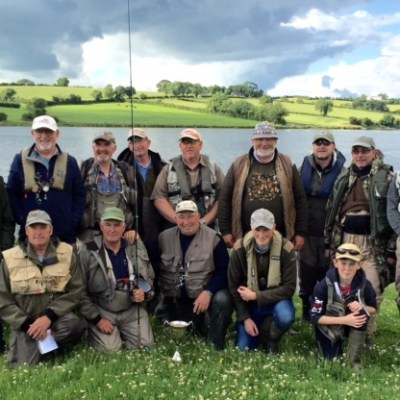 BAC Anglers who competed in the Boat Anglers Cup competition on 24 June 2016
