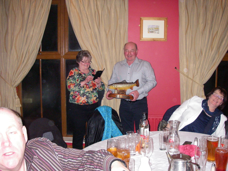 BAC Noel Burns winner of the Otterburn Trophy 2016 - 27 January 2017