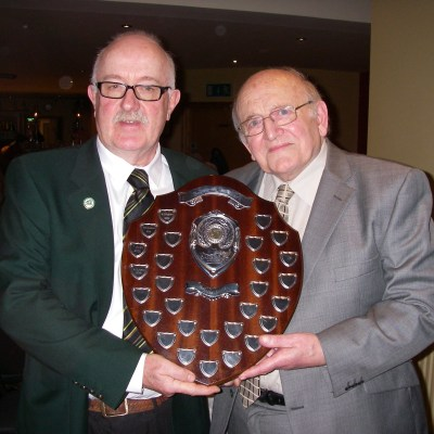 BAC Wilson Clinghan Angler of the Year 2016 and Sam Vage Joint President 27 January 2017