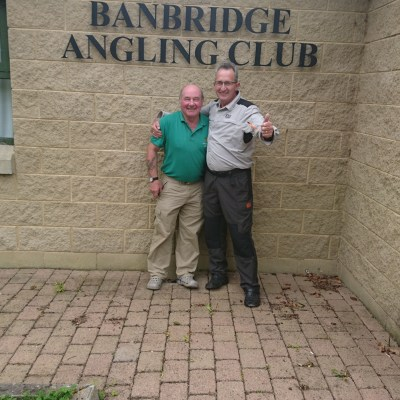 BAC Gowdy Cup on River Bann 2 September 2017 - Colin Crothers 1st and Noel Burns 2nd