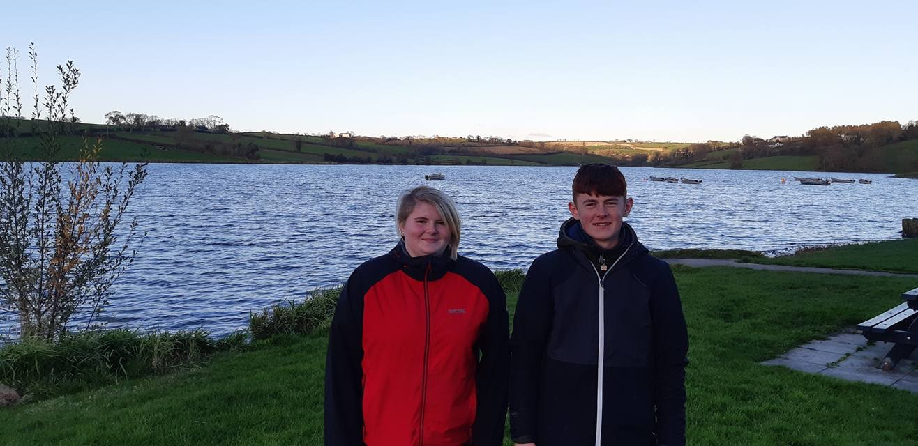 BAC Juvenile Anglers at the Hanlon Cup at Corbet Lough on 27 October 2018