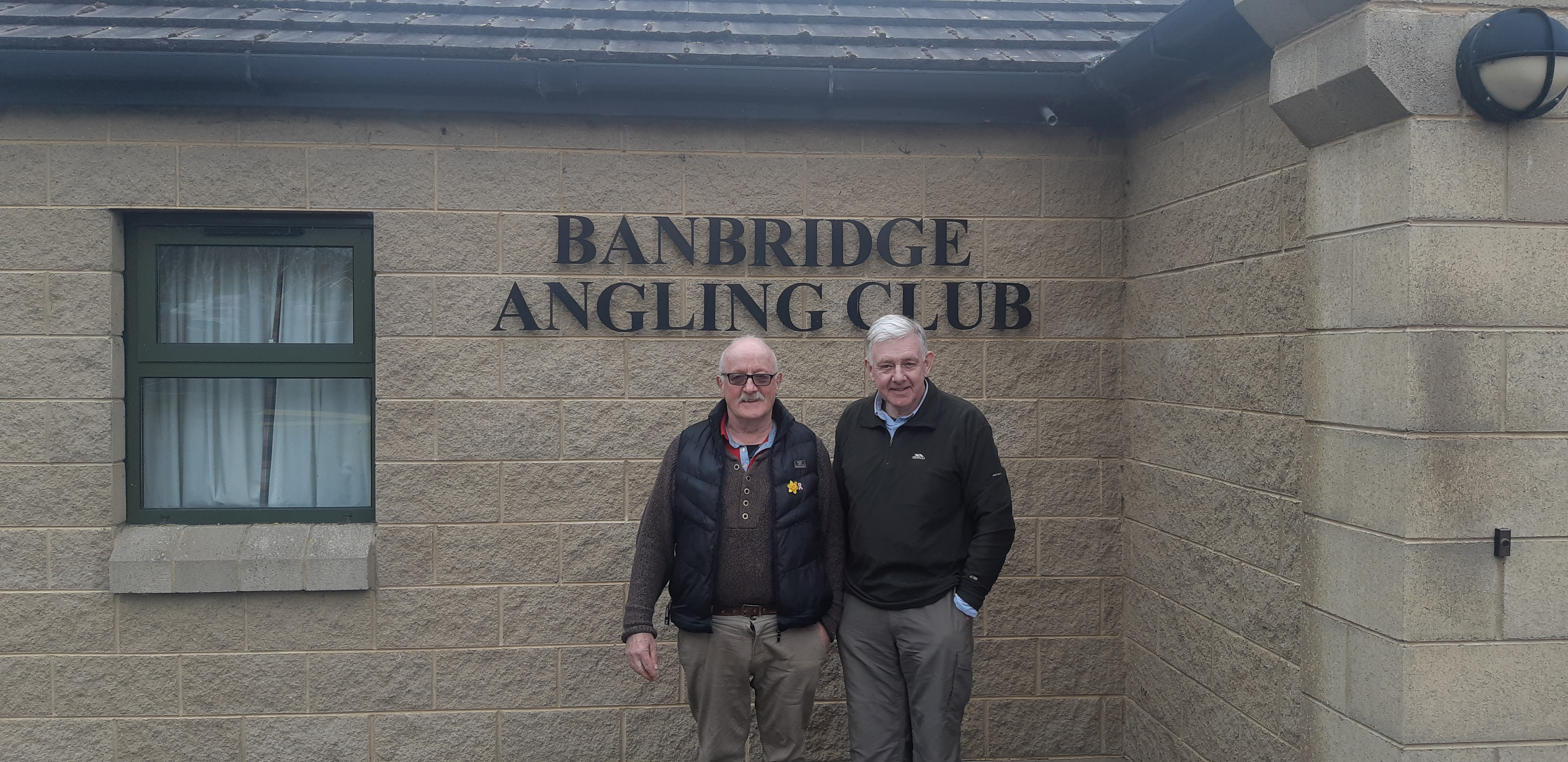BAC AIB Cup, River Bann, 23 March 2019 - Wilson Clinghan 1st and Sam Grant 2nd