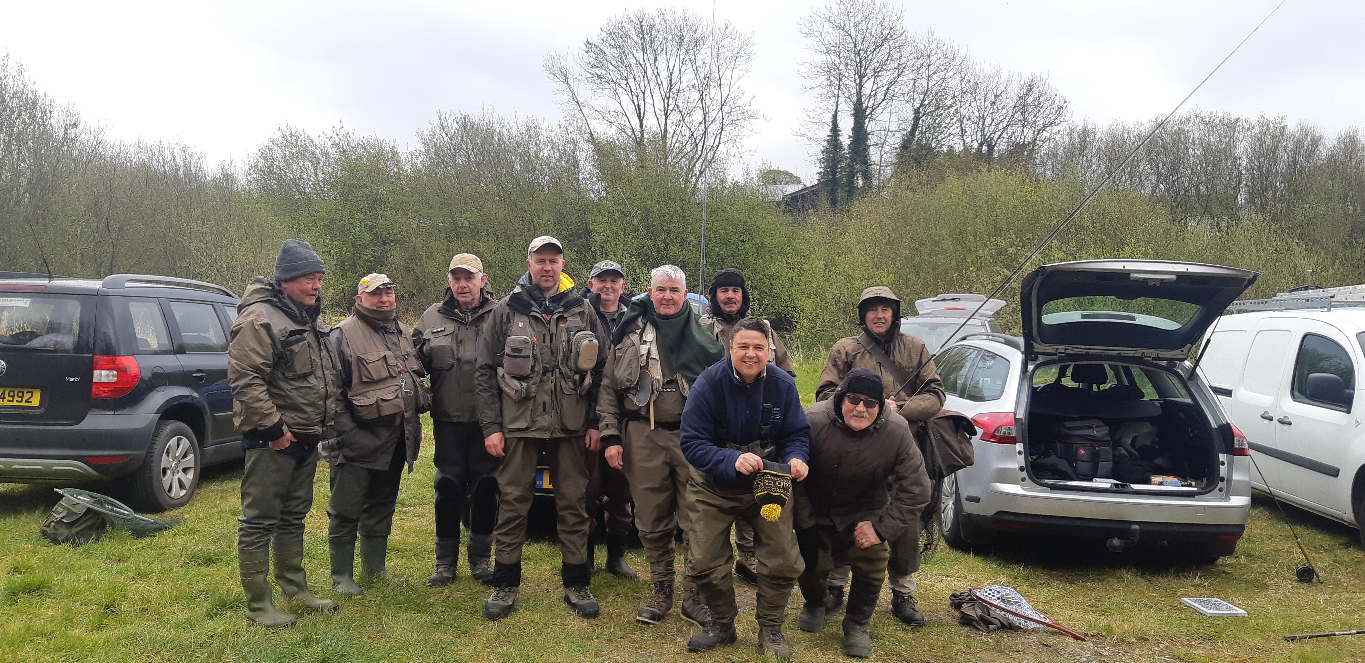 BAC Friendship Cup Lowry's Lake, Armagh on 13 April 2019 - Banbridge Angling Club team