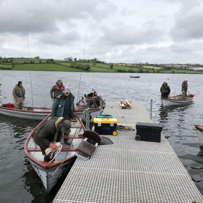 BAC - The Challenge Cup Banbridge Angling Club and The Black Pennels at Corbet Lough on Saturday 18 May 2019