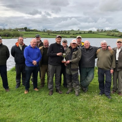 BAC - Damian Murtagh presents The Challenge Cup to The Black Pennels at Corbet Lough on Saturday 18 May 2019