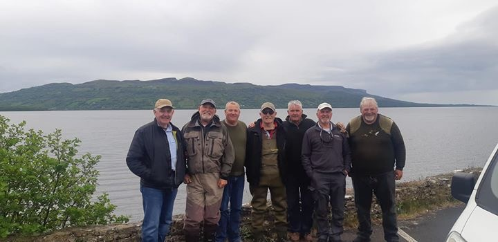 BAC - Straghan Cup Lough Melvin 1st June 2019 - Some of the Club's anglers who fished the competition