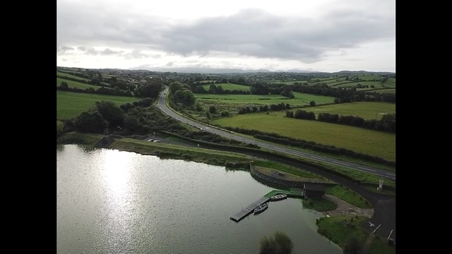 BAC - The Corbet Lough and Aughnacloy Road form the air - Photograph courtesy of Chris Wolfe (taken by drone)