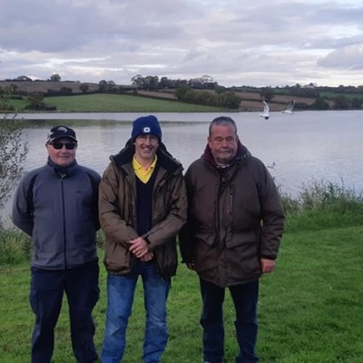 BAC - The Toasty Jardine Shield at Corbet Lough on Saturday 12 October 2019 - Noel Burns 2nd; Dessie Graham 1st and Paul McKinstry 3rd