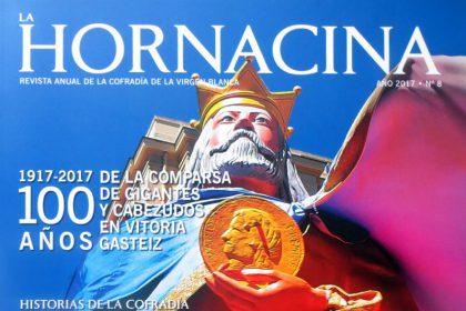 """Presentada la REVISTA DE FIESTAS """"LA HORNACINA""""(Nº 8-2017) de la Cofradía de la Virgen Blanca con un artículo de nuestro presidente"""
