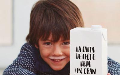 """Vuelve la campaña """"Ningún niño sin bigotes"""" de la Caixa y los Bancos de Alimentos para combatir la pobreza alimentaria"""