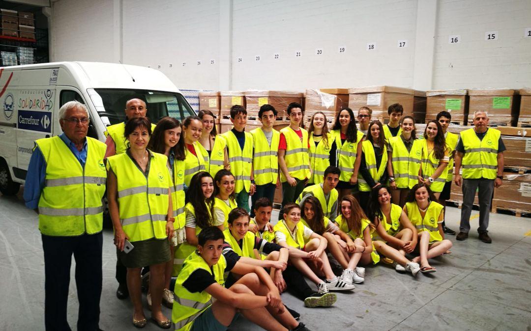La ikastola Olabide de Vitoria/Gasteiz  nos visita