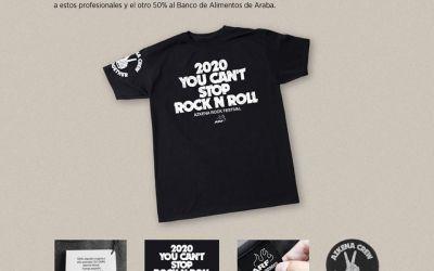AZKENA ROCK FESTIVAL AYUDA AL BANCO DE ALIMENTOS DE ARABA