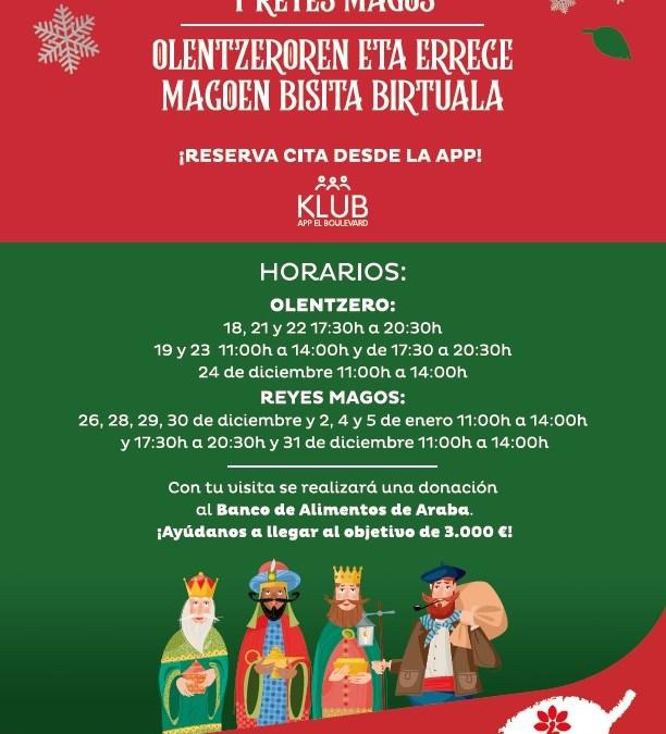 Colaboración en Navidad del CC El Boulevard con el Banco Alimentos Araba