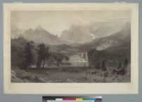 Bierstadt, Albert & David, James. The Rocky Mountains (1866). BANC PIC 1963.002:0853--D. Courtesy of The Bancroft Library, University of California, Berkeley ONLINE