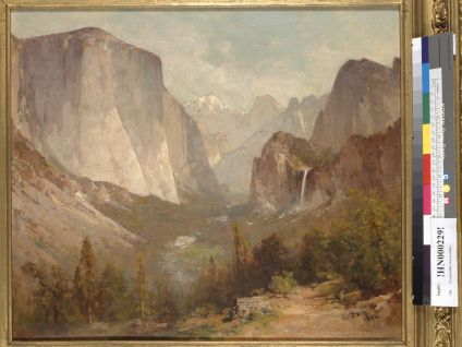 Hill, Thomas. El Capitan, Yosemite, California (1894). BANC PIC 1963.002:1365--FR. Courtesy of The Bancroft Library, University of California, Berkeley ONLINE