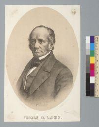Nahl, Hugo Wilhelm Arthur. [Portrait of] Thomas O. Larkin (18--). BANC PIC 1963.002:0485--A. Courtesy of The Bancroft Library, University of California, Berkeley Online