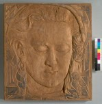 Gertrude Partington Albright. [Relief portrait (unfinished)] BANC PIC 1957.013:4--FR Courtesy of The Bancroft Library, University of California, Berkeley ONLINE