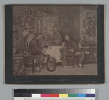 """Houseworth, Thomas. Chinese musicians [graphic] : [a photograph of a painting by Theodore Wores] (1887). BANC PIC 19xx.211--A.Courtesy of The Bancroft Library, University of California, Berkeley"" Online"