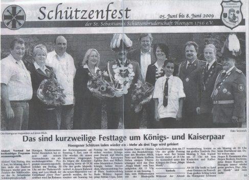 St. Sebastianus Schützenfest Hoengen