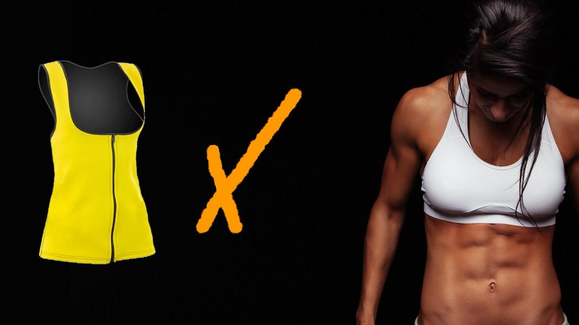 Sauna sweat vest for women