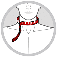 Cervikalstøtte - nakkebandage