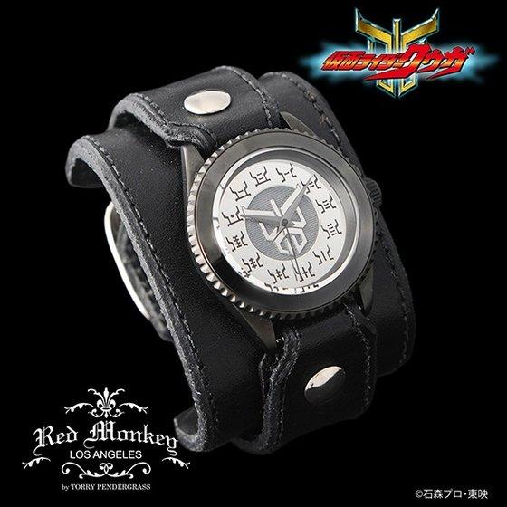 仮面ライダークウガ × Red Monkey designs Collaboration Wristwatch Silver925 High-End Model アニメ・キャラクターグッズ新作情報・予約開始速報