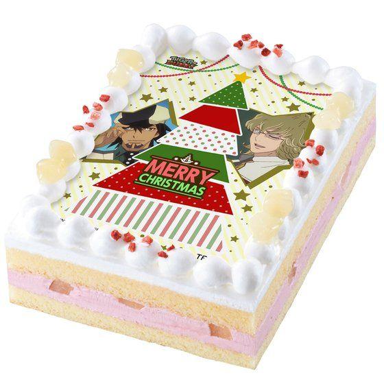 [キャラデコプリントケーキ クリスマス] TIGER & BUNNY アニメ・キャラクターグッズ新作情報・予約開始速報