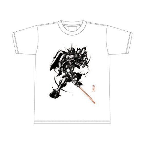 武人画×機動戦士ガンダム Tシャツ(宿命の閃刀) アニメ・キャラクターグッズ新作情報・予約開始速報