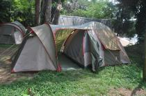 The Kim-tent has two compartments