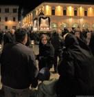 14 aprile 2017: processione del Venerdì Santo a Pollenza (Macerata)