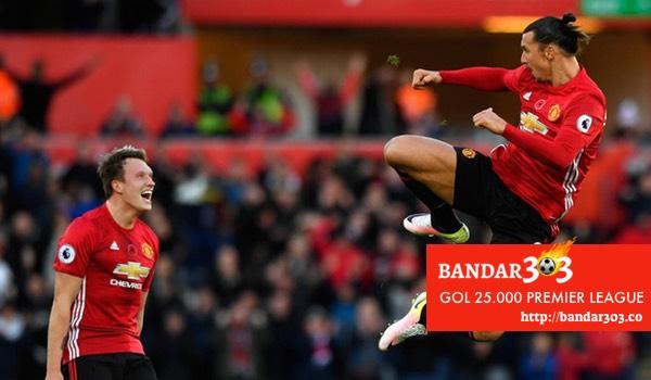 Ibrahimovic EPL Liga Iggris Manchester United