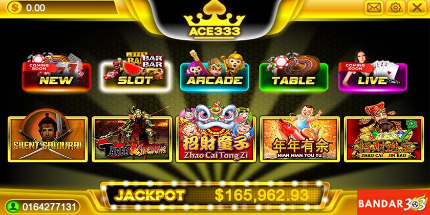 ACE333 Slot Casino Games