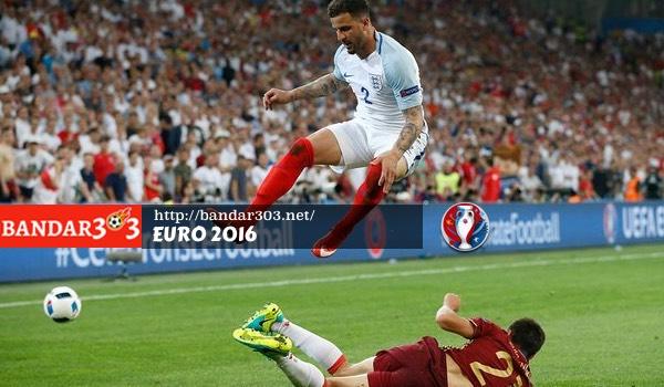 Kyle Walker Inggris Euro 2016