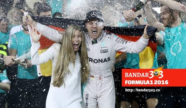 Nico Rosberg Mercedes Formula1 2016