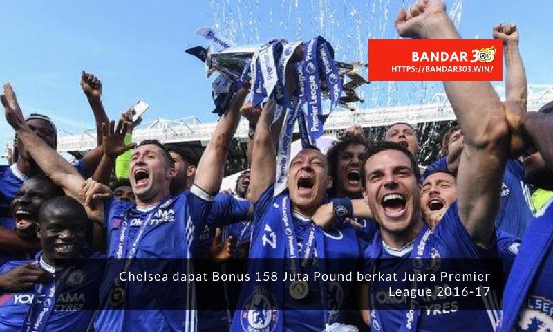 Bonus Chelsea Juara Premier League 2016-17