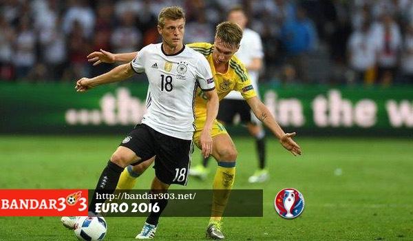 Toni Kroos Jerman Euro 2016
