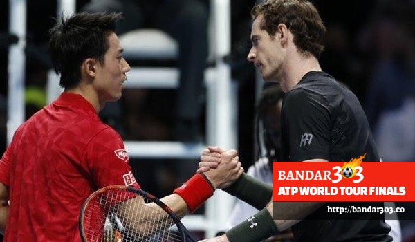 Andy Murray Kei Nishikori ATP World Tour Finals 2016