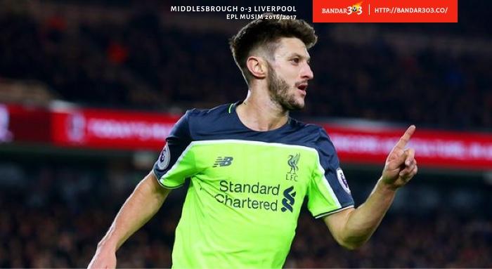 Adam Lallana Liverpool Middlesbrough 3 0 EPL 2016