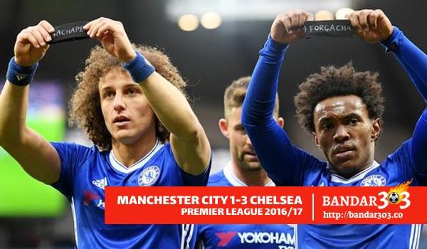 Willian dan David Luiz Chelsea EPL 2016