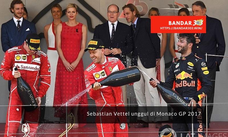 Podium Monaco GP 2017