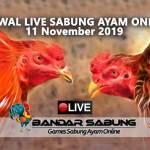 Jadwal Sabung Ayam Online S128 Dan SV388 11 November 2019