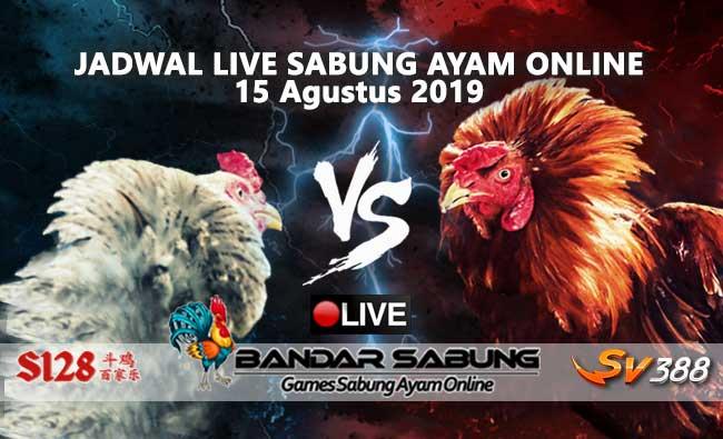Jadwal Sabung Ayam Online S128 Dan SV388 15 Agustus 2019