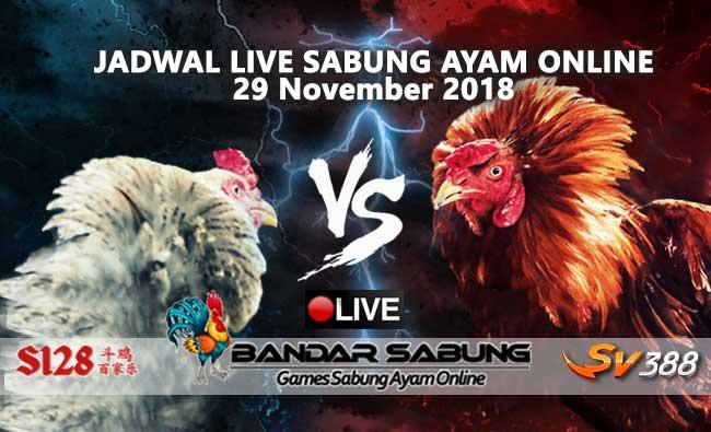 jadwal sabung ayam online s128 dan sv388 28 november 2018