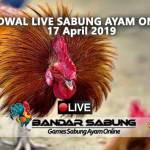 Jadwal Sabung Ayam Online S128 Dan SV388 17 April 2019