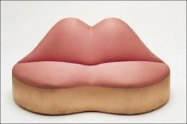 sofa labios de mãe west dali