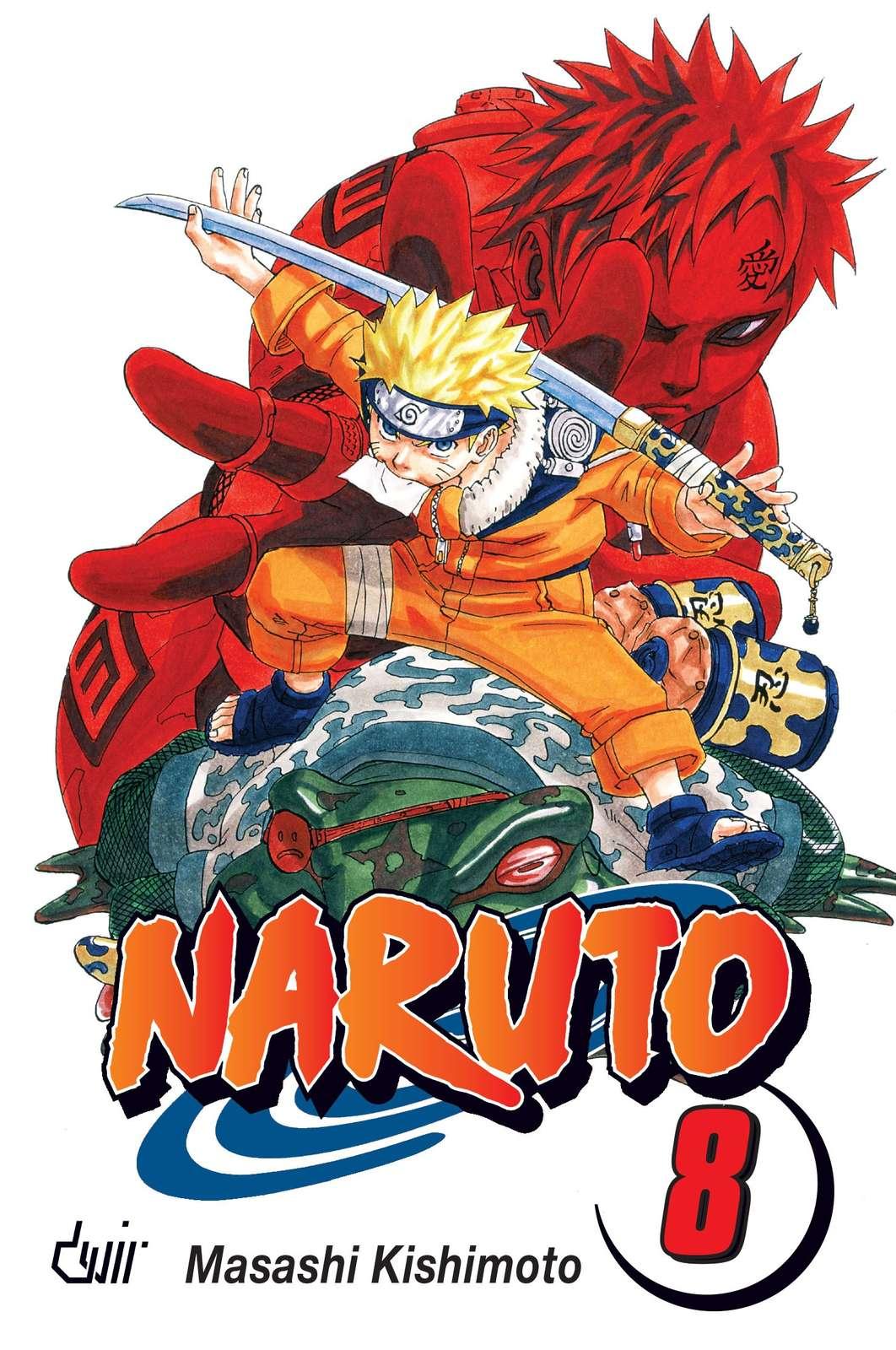 9789895592494 - Naruto 08 Combates de Vida ou de Morte